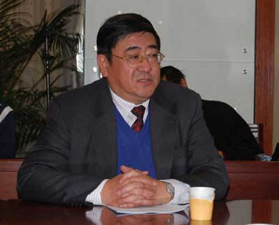 Chinese trade hurried is met chemical industry branch is standing vice-chairman Sun Dongliang