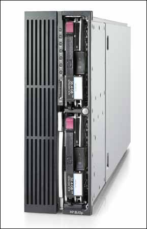HP ProLiant BL45p刀片服务器