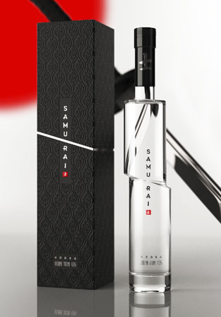 1. Samurai Vodka
