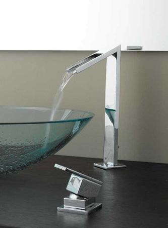 The new-style section faucet that can shut automatically